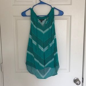 Banana Republic Tank Blouse with Tassels